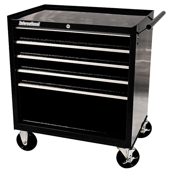 Armoire mobile à 5 tiroirs en métal