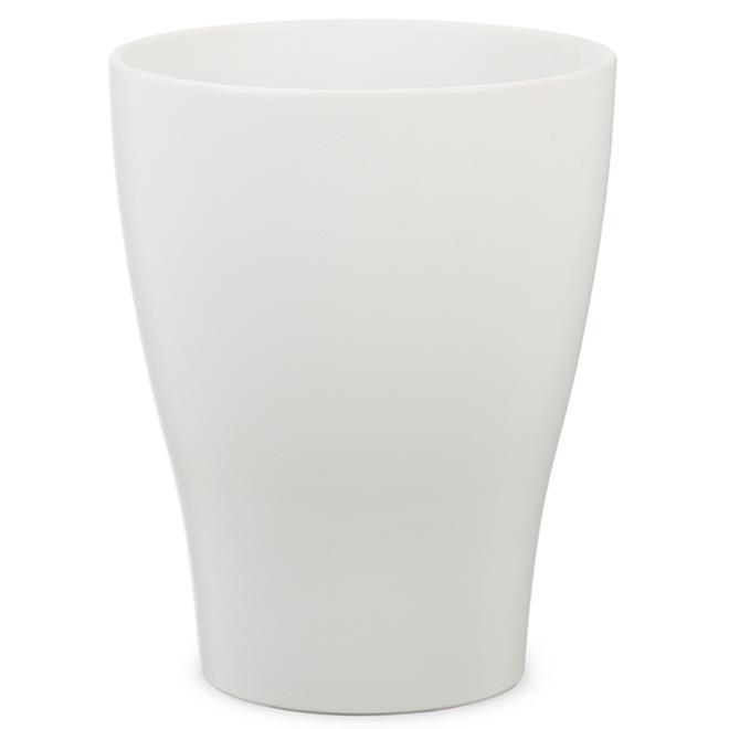Cache-pot pour orchidée « Panna » en céramique 6 po, blanc