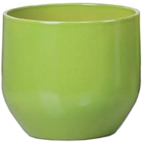 Cache-pot en céramique 22cm - Vert pur