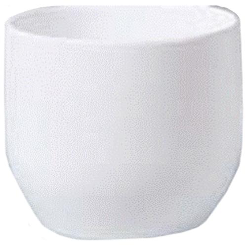 Cache-pot « Panna » en céramique 10 po, blanc