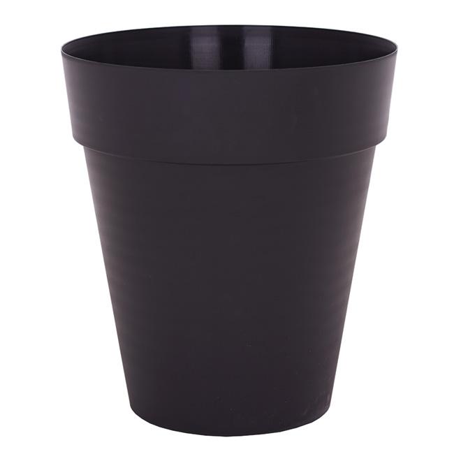 Pot à fleur «Capri» - Noir