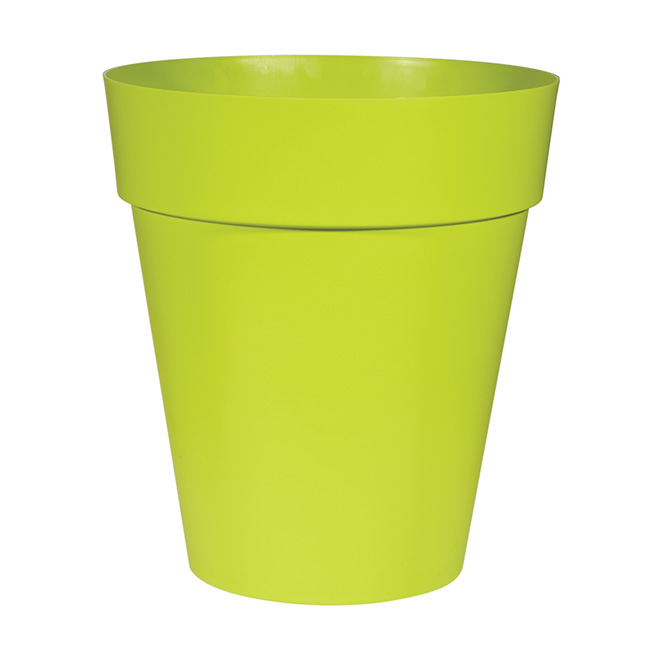 Pot en plastique «Capri» 56cm - Vert