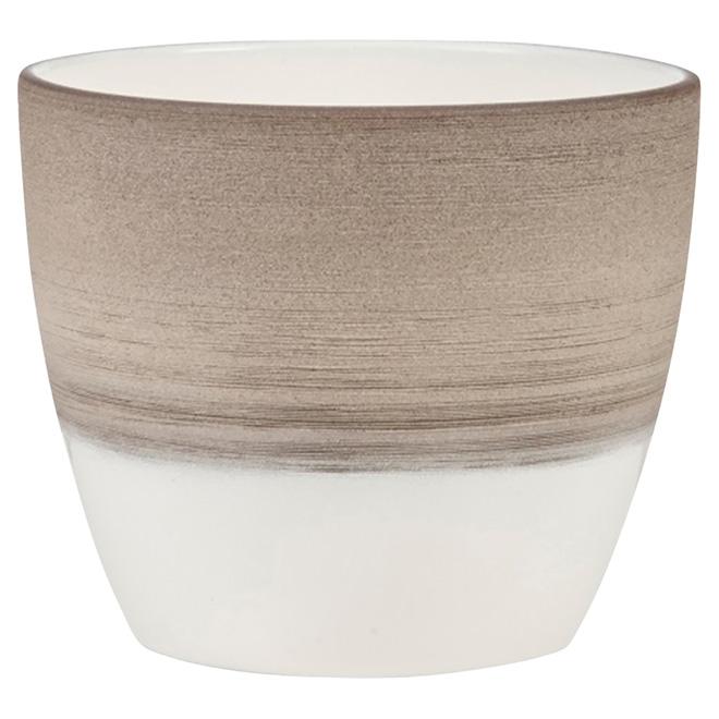 Pot en céramique «950», 6,3po, espresso