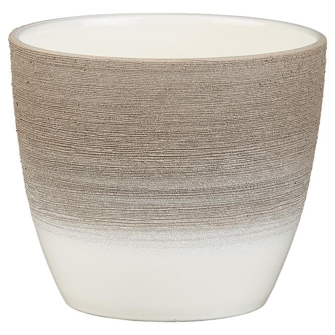 Pot en céramique «950», 5,5po, espresso