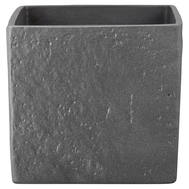 Cache-pot en céramique 970, 5,5 po, graphite