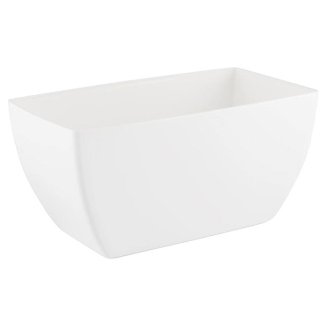 Jardinière « Siena », 11,8 po, blanc