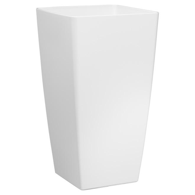 Grand cache-pot « Piza », 23,6 po, blanc