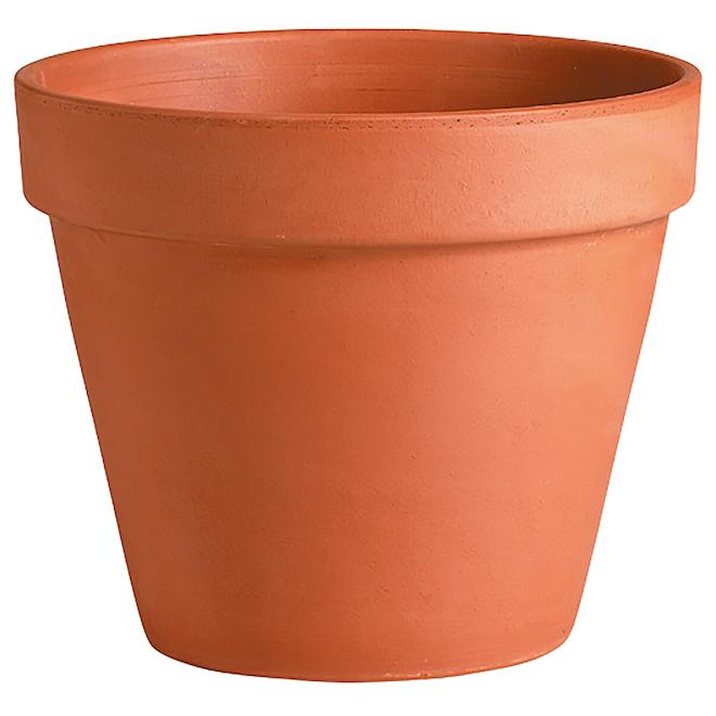 Deroma Clay Pot - 17 cm - Terracotta