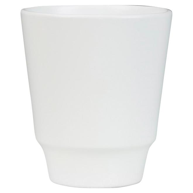 """Cache-pot pour orchidées, 631, 4 3/4"""", blanc"""
