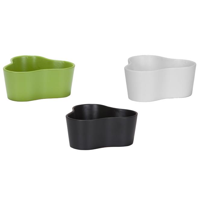 Cache-pots en céramique, couleurs variées