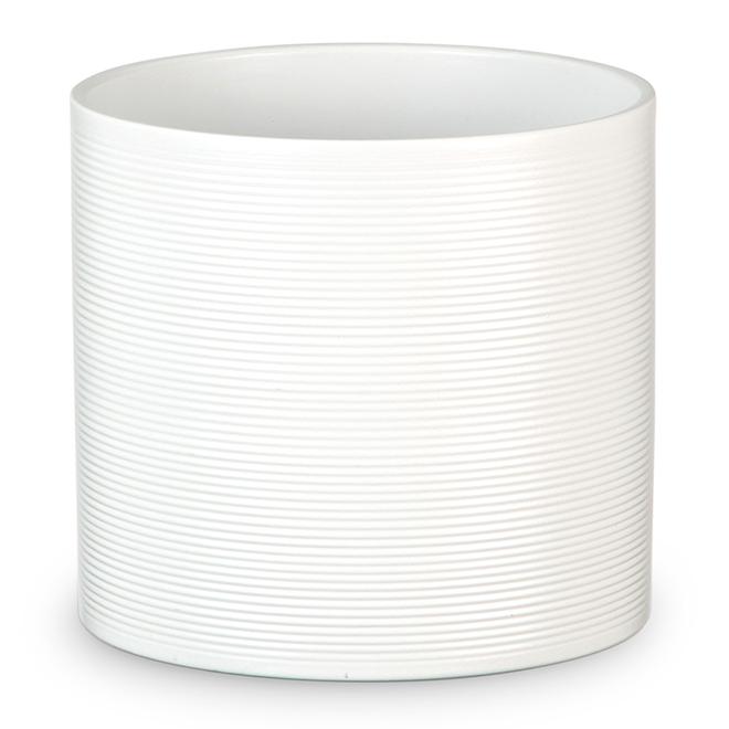 Scheurich Pot Cover - Panna 828 - 12 cm - Ceramic - White