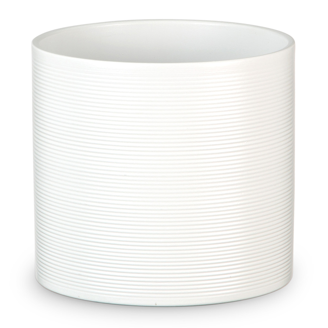 Scheurich Pot Cover - Panna 828 - 28 cm - Ceramic - White