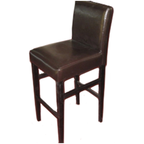 29-in Bar Stool - Dark Brown