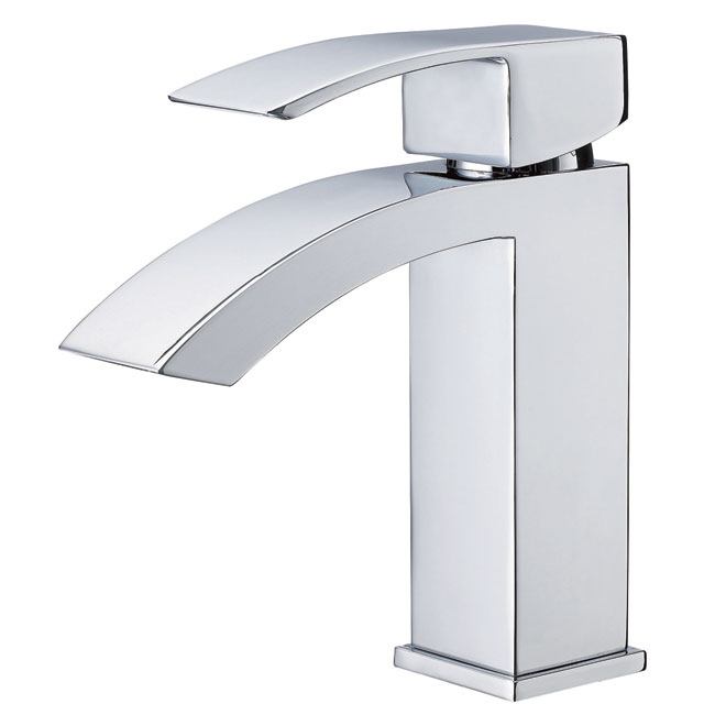 Single Lever Lavatory Faucet - Alexandria - Chrome