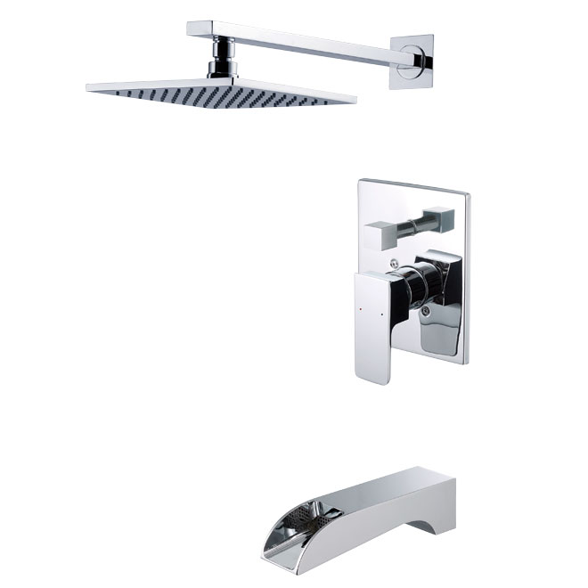 uberhaus design bathtub and shower faucet jy24000c | rona