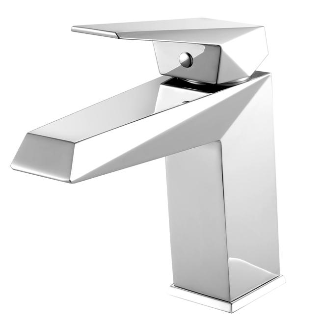 Robinet de lavabo à levier, chrome