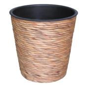 "Round Wicker Planter Pot - 9.75"" - Natural"