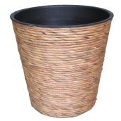 Round Wicker Planter Pot - 12.75