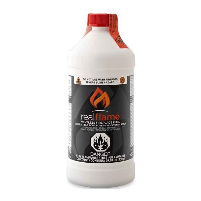 Combustible pour foyer sans ventilation