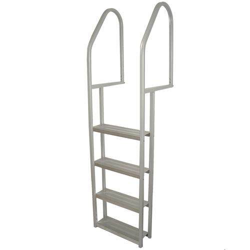 """Échelle de quai en aluminium 4 marches, 24""""x72"""""""