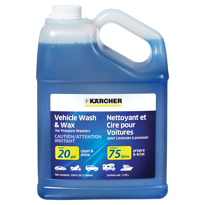 Vehicle Wash and Wax - 3.78 L