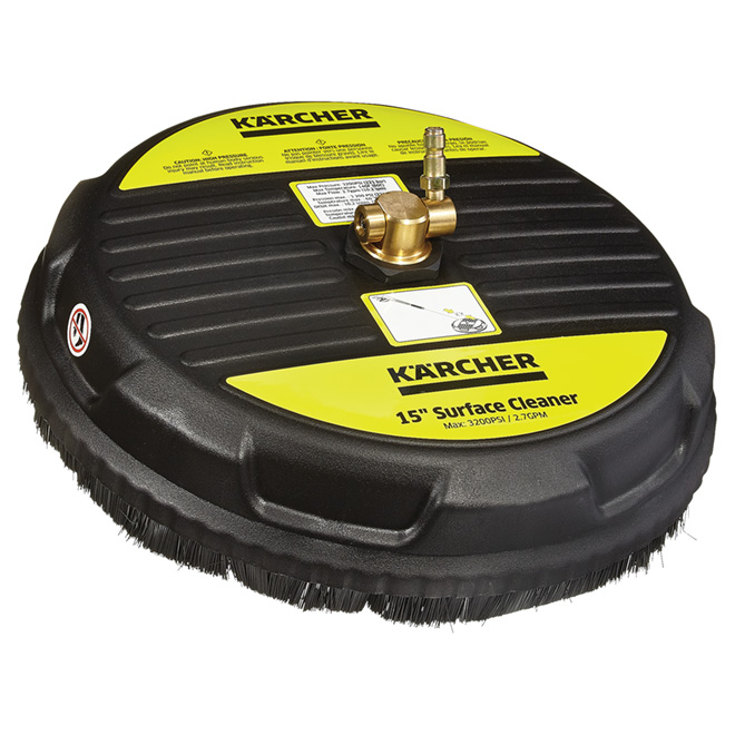 Nettoyeur de surface pour laveuse à pression, 3200 lb/po²