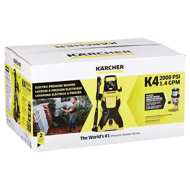 Electric Pressure Washer 1.5 GPM - 1900 PSI