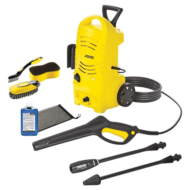 Electric Pressure Washer 1.25 GPM - 1600 PSI
