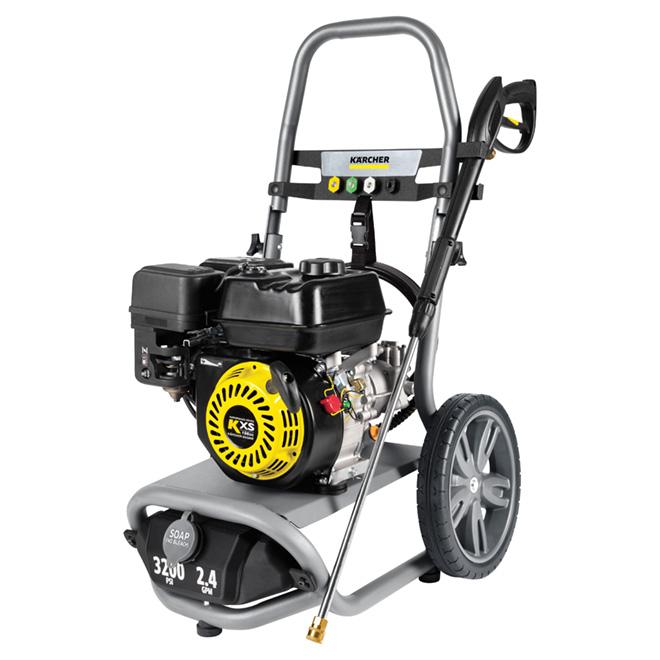 Laveuse à pression G3200X, 3200lb/po², 2,4gal/min, jaune/noir