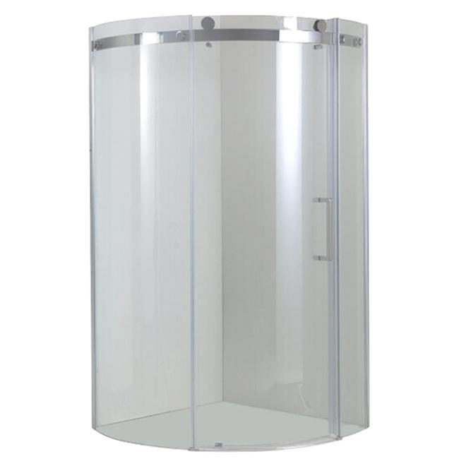 Porte de douche « Angel », ouverture de droite à gauche