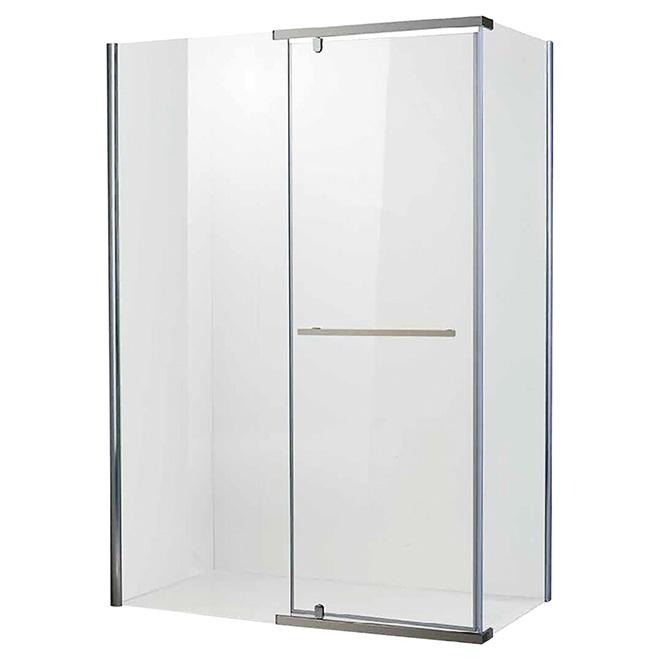 Porte de douche réversible « Salto », 30,1'' x 46,3'' x 75''
