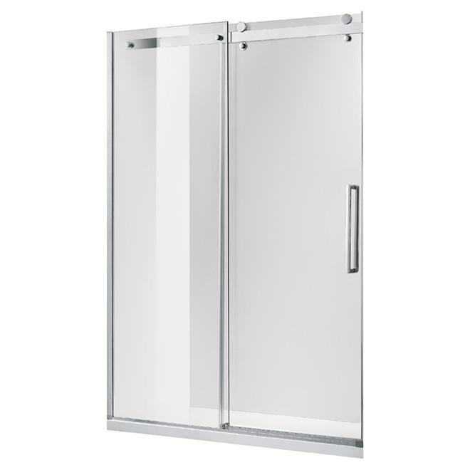 """""""Dettifoss"""" Shower Door - 46.3"""" x 75"""""""