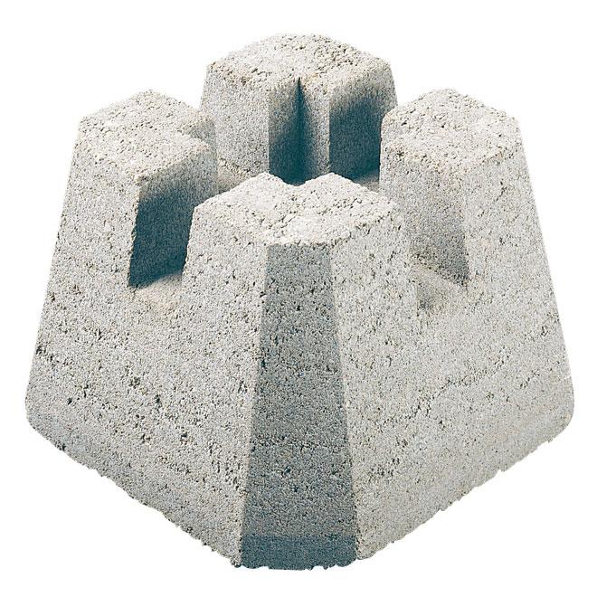 Base de béton «Dek-Block»