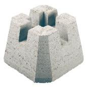 """""""Dek-Block"""" concrete deck base"""