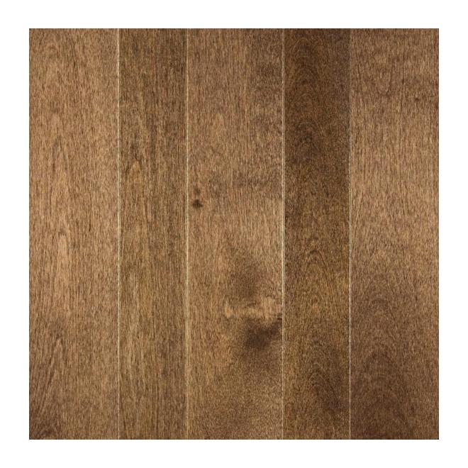 "Birch Hardwood Flooring - 3 1/4"" x 3/4"" - Earth"