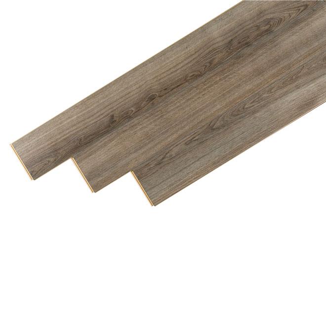 Plancher stratifié Megaloc, 10 mm, chêne gris tundra
