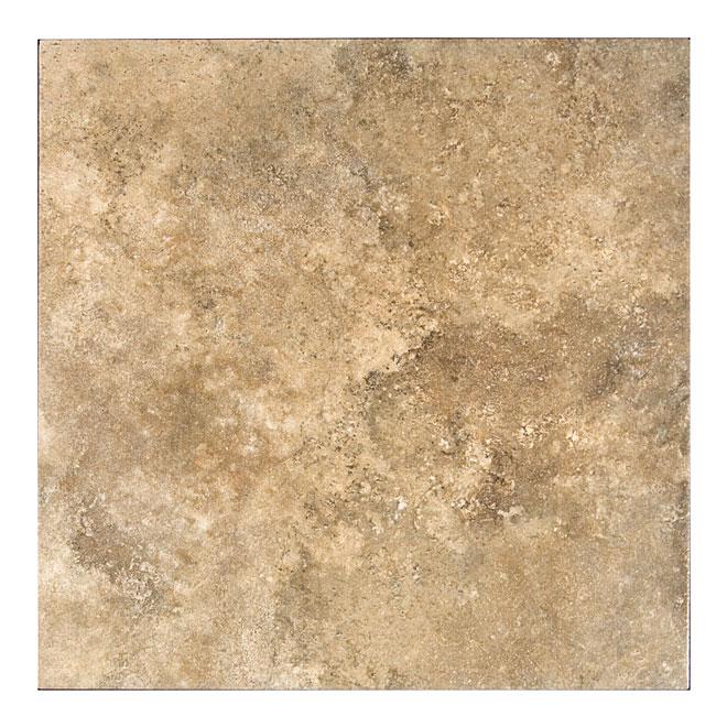 """Tuiles de céramique, 16"""" x 16"""", 11/boite, beige"""
