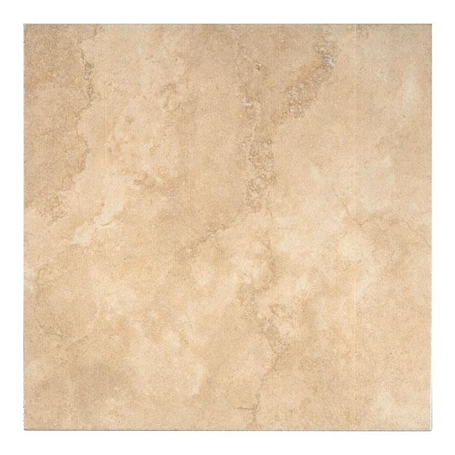 """Carreau de céramique «Rapolano», 16"""" x 16"""", beige"""