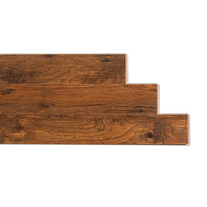 Plancher stratifié 10mm, Brun Foncé