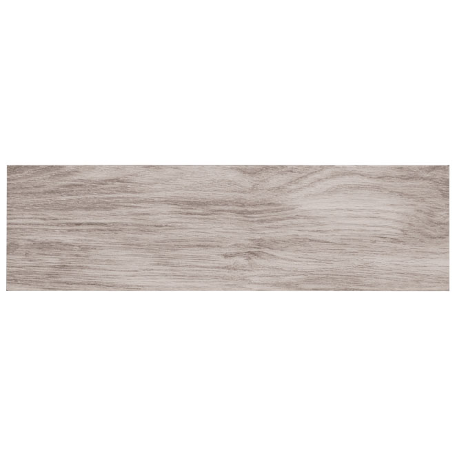 """Wood"" Porcelain Tile - 7"" x 24"" - Grey Oak"