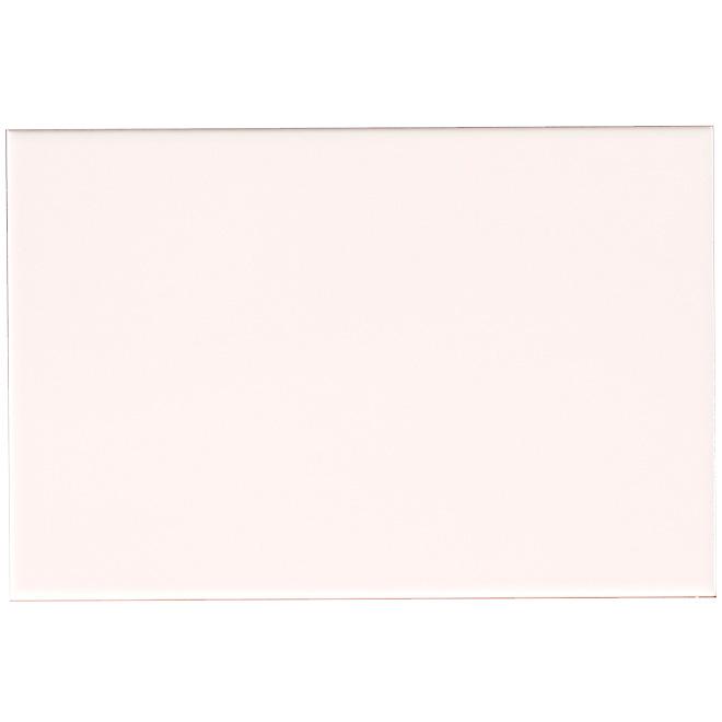 Tuiles de céramique 8x 12po, blanc brillant