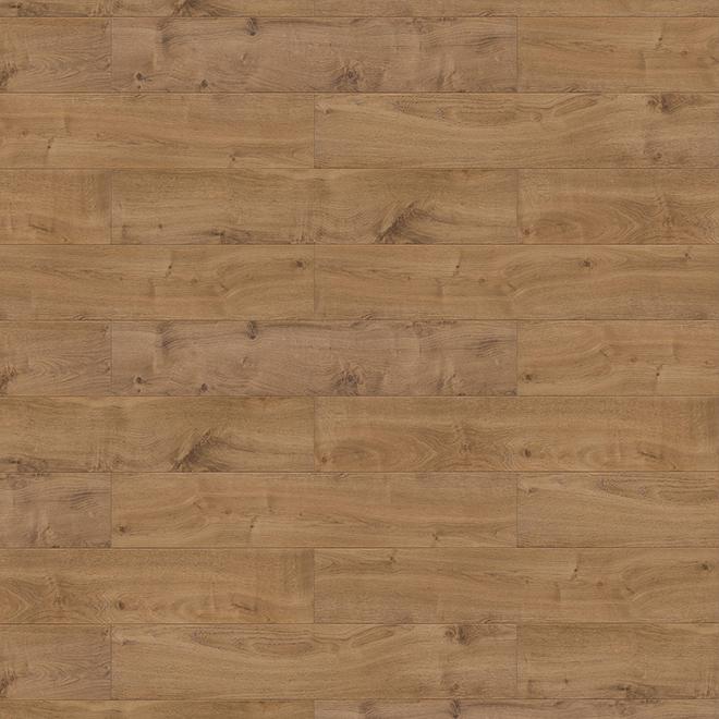 Plancher stratifié Mono Serra, HDF, 11,93 pi², brun, paquet de 6