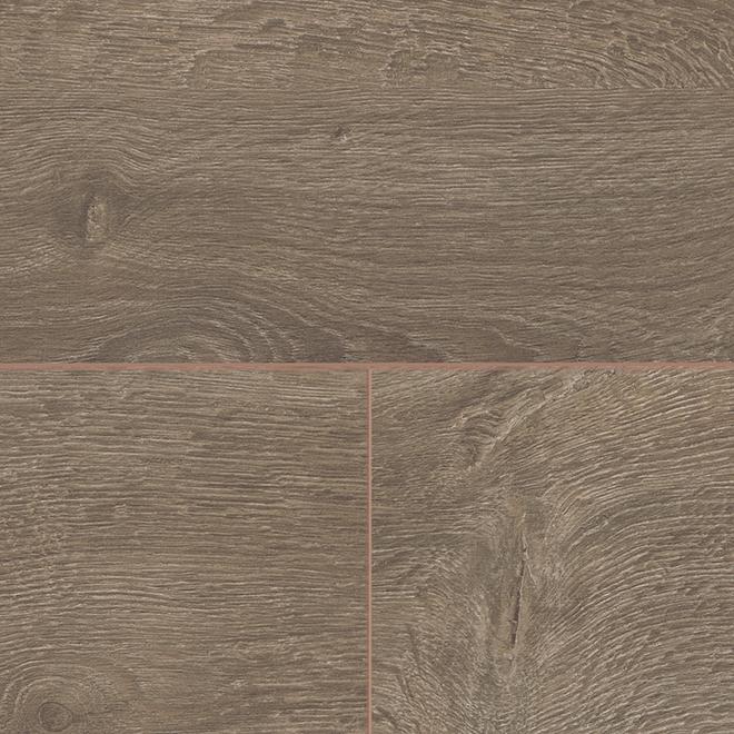 Plancher stratifié par Mono Serra, HDF, 11,93 pi², brun, paquet de 8