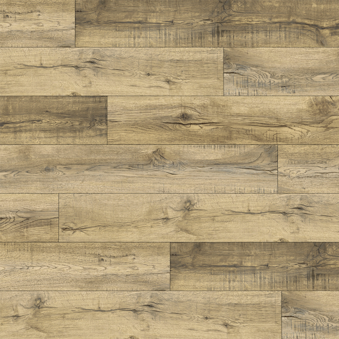 Mono Serra Amber Vinyl Flooring - 3.5 mm - 28.38 sq.ft - 12 Planks - Beige