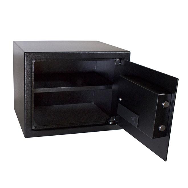 Coffre-fort numérique en acier, 0,94pi³, noir