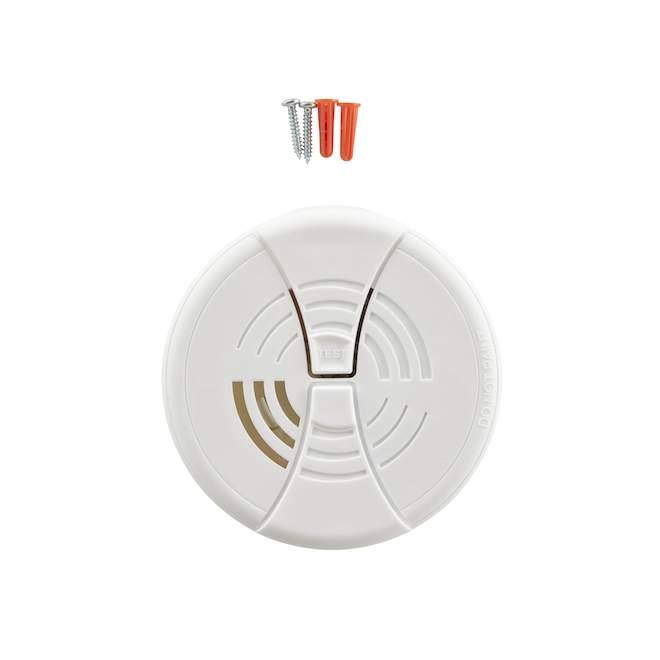 Avertisseur de fumée à ionisation, pile 9 V Ion, pqt/2