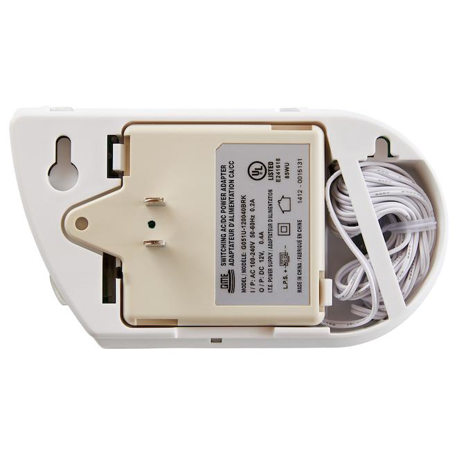 Avertisseur électrochimique combiné, gas/CO, enfichable