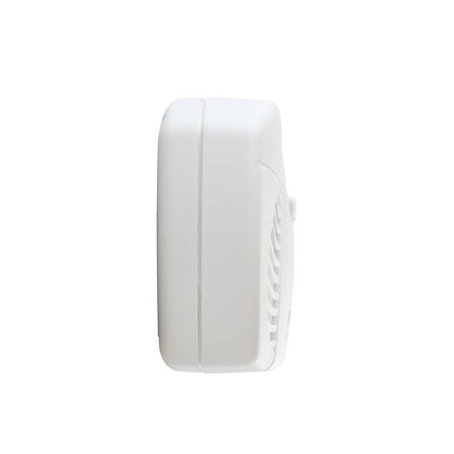 Avertisseur de monoxyde de carbone à piles First Alert, plastique, blanc
