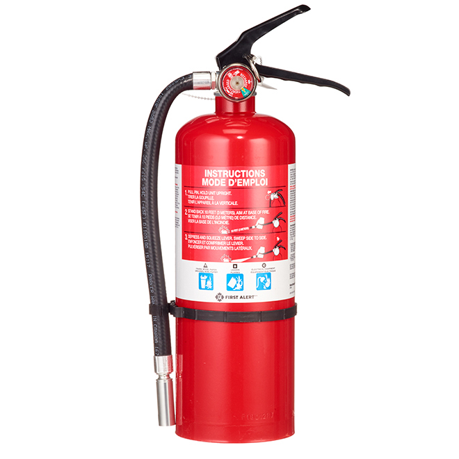 Rechargeable Heavy-Duty Fire Extinguisher Type 3A400-BC/5 Lb