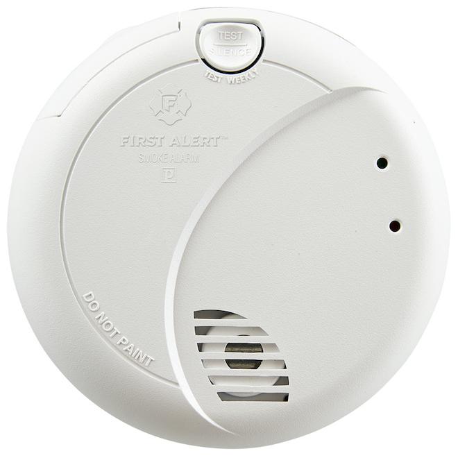 Smoke Detector Photoelectric Optipath 360 - 120 V Hardwired